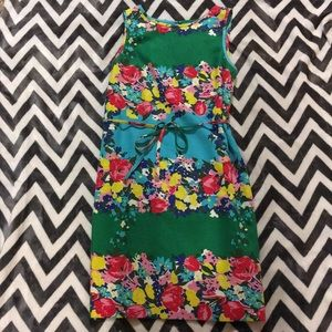 Talbots Sleeveless Floral Dress Size 14 EUC